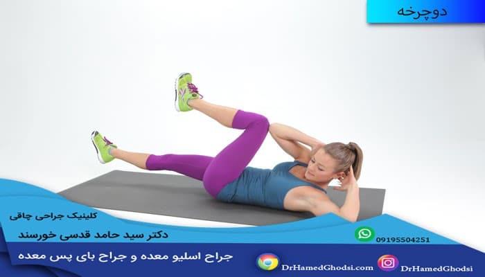 ورزش آب کردن شکم